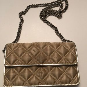 Marc By Marc Jacobs gold evening bag